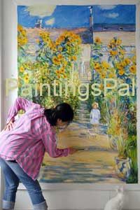 check our reproduction quality of handmade oil paintings