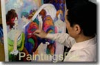PaintingsPal Painter #7 with 19 years hand-on experience, specializing in oil paintings in impressionism, abstract and contemporary styles, and has done himself more than 1,200 reproductions of oil paintings / more his art replicas