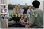 PaintingsPal Portrait Artist #8 good at group or family portrait in realism style