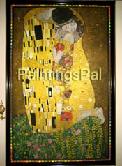 Pictures from happy customers 2 / more Klimt's Kiss reproductions